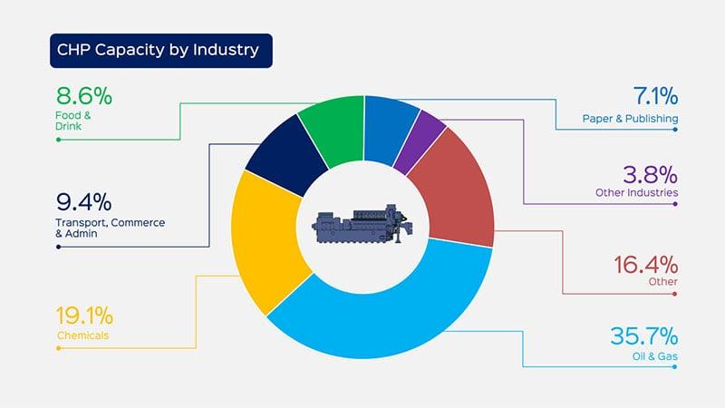 UK CHP Capacity by Industry