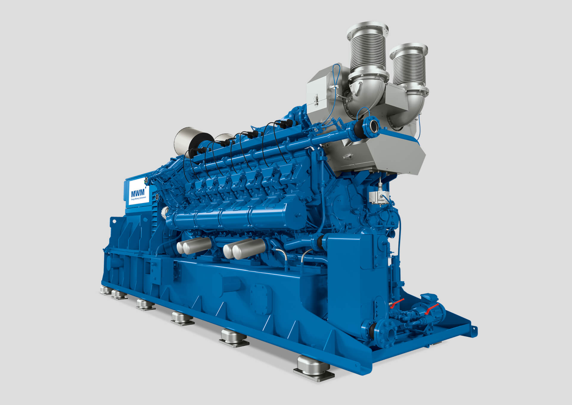 MWM TCG 3020 V16 engine