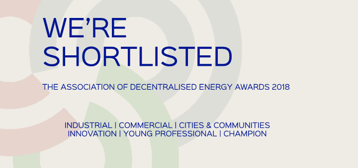 We're shortlisted for the ADE Awards 2018
