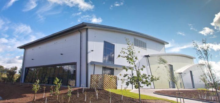 Edina CHP energy centre at Cranbrook, Exeter
