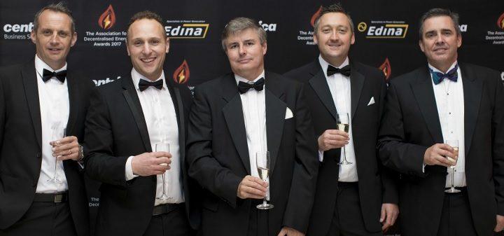 Edina staff at the ADe Awards 2017