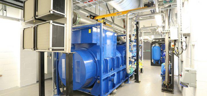 Edina 4MWe CHP at Gateshead District Energy Scheme