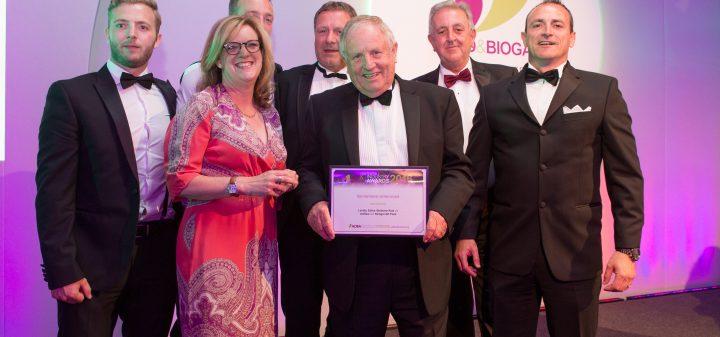 Edina and Richgro win UK AD Biogas Awards 2016