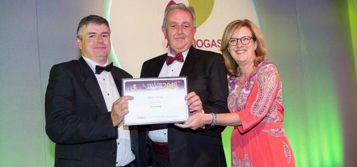 Edina wins AD Team of the Year award at the UK AD Biogas Awards 2016