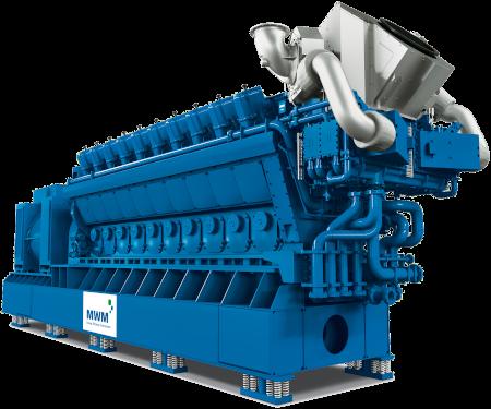 10.3MWe MWM TCG 3042 gas engine