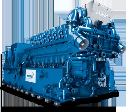 MWM TCG 2032 Gas Engine