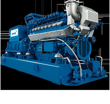 MWM TCG 3016 Gas Engine