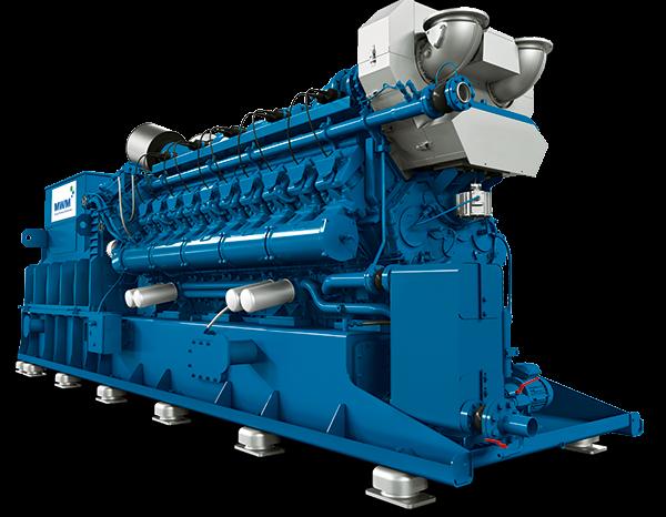 MWM TCG 3020 Gas Engine